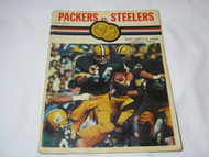 Green Bay Packers vs Steelers Lambeau Field Sept 1969 Program
