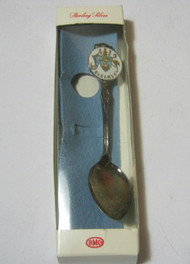 Sterling Silver Souvenir Spoon w/ Box from the Bahamas Vtg.
