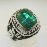 Jostens Sterling Silver Green Bay Southwest High School 1979 Class Ring Size 9.5