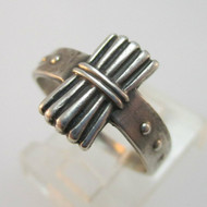 Sterling Silver Camp Fire Girls Ring Size 5.5
