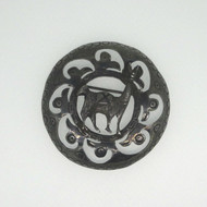 Vintage Sterling Silver Peruvian Style Brooch Pin 3D Llama Cutout Pattern Signed