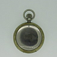 Antique Swiss Worn Silver Tone Watch Case (B3508)