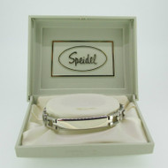 Speidel Stainless Identification ID Medical Bracelet 6 3/4 Inches