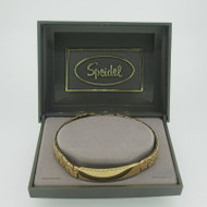 Speidel Gold Tone Medical ID Bracelet 7 Inches