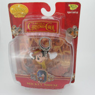 Mickeys Christmas Carol Mickey Mouse as Scrooge's Clear Bob Cratchit Key Chain