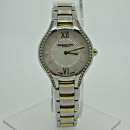 Raymond Weil Noemia 5127 Stainless Steel and Gold Plated with Diamonds Ladies Quartz Watch (B4990)