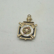 Vintage Hard to Find Scottish Rite Knights Templar Masonic Convertible Watch Fob