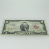 1953 Red Seal United States Two Dollar Note 600678