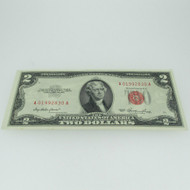 1953 Red Seal United States Two Dollar Note 600679