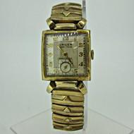 Vintage Gruen Veri-Thin Precision 430 17J 10k Gold Filled Watch Parts (B5505)