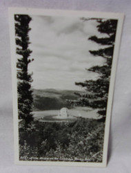 Vista House on the Columbia River Ore Old Photo Postcard