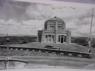 Old 1930's Photo Postcard The Vista House Crown Point Columbia River Highway