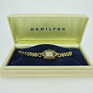 Vintage Hamilton 750 17J Marie 10k Gold Filled Watch with Original Box Parts Steampunk (B6864)