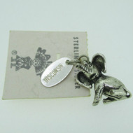 Sterling Silver Baby Elephant Like Horton Hears A Who Pendant