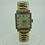 Vintage Towne Swiss Watch Co. 17J Gold Plated and Stainless Steel Watch Parts Steampunk (B6893)