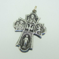 Sterling Silver Catholic Religious Miraculous Medal I Am A Catholic