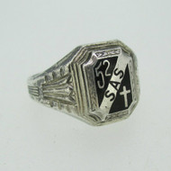 Sterling Silver SAS High School Class 1952 Ring Size 9.25