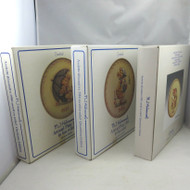 Lot of 3 Vintage M.I. Hummel Annual Collector's Plates 1981 1984 1985 in Boxes