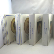 Lot of 4 Vintage Annual M.I. Hummel Collector Plates 1981 1984 1985 1986 w Boxes
