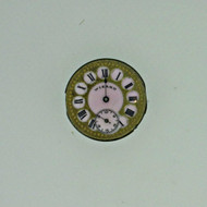 Antique Swiss Wizard 2/0s Jeweled Movement and Dial Parts Steampunk (B7951)