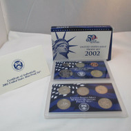 2002 United States  Mint Proof Set 10 piece 2 Tray