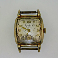 Antique Bulova Excellency Watch Movement and Dial with 10k Gold Filled Case (300.3848D CB)