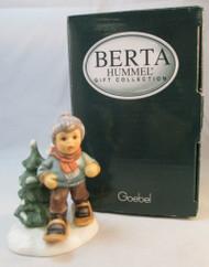 "Berta Hummel "" Dashing Through the Snow""*"