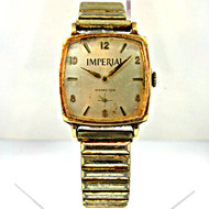 Vintage Hamilton Watch Co. Imperial Watch 17 Jewels 10k Rolled Gold Plated and Stainless Steel Case and Band (3003979 CB)
