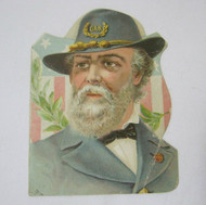 Antique GAR Card Civil War Veteran