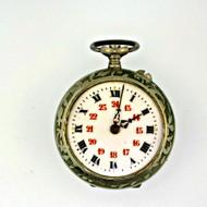 Antique Silver Tone Pocket Watch Parts Steampunk (3004097CB)