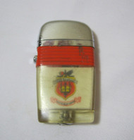 Vintage Scripto VU-Lighter USS Saratoga Navy Military