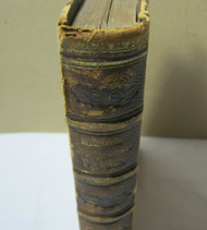Antique 1800's Medical Leather Bound Book Dr. Friedrich Esmarch