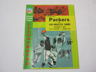 Packers vs. Rams Oct 6 1963 NFL Illustrated Vtg. Program