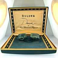 Vintage Bulova Diamond Dream New Diamond Elegance Watch Box (3004869CB)
