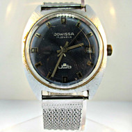 Vintage Jowissa Silver Tone 17 Jewels Watch (3005263CB)