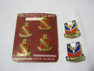 Per Ardua & Militant Vtg. Lot of 6 Military Pins