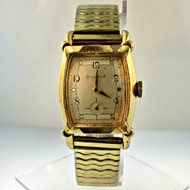 Vintage Bulova Watch Co. 17 Jewels Watch with 10k Gold Filled Band (3005268CB)