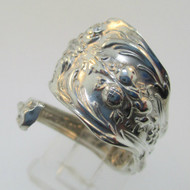 Sterling Silver Expandable Reed E. Barton Spoon Ring Size 6.5
