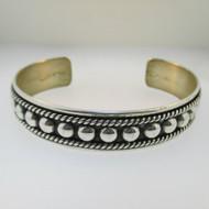Sterling Silver SU Southwest Style Cuff Bracelet