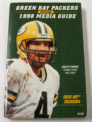 1998 Offical Green Bay Packers Media Guide ***