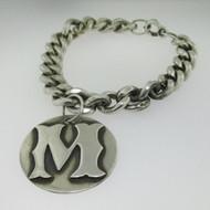 M Monogram Initial Bracelet