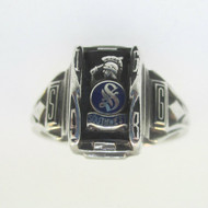 Sterling Silver 1968 Southwest High School Class Ring Size 5.75