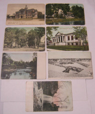Green Bay & De Pere Antique Postcard Lot Birds Eye View & More!