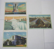 1933 Chicago World's Fair & Chicago South Water Market Postcard Lot
