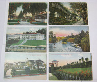 Los Angeles Pasadena Long Beach CA Antique Postcard Lot