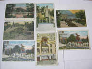 Chicago Antique Postcard Lot Theatre & Parks