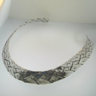 Sterling Silver Southwest Style Collar Necklace