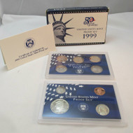 1999 United States  Mint Proof Set 9 piece 2 Tray