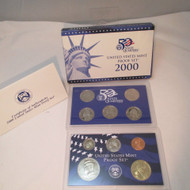 2000 United States  Mint Proof Set 10 piece 2 Tray