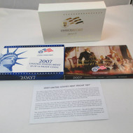 2007 United States  Mint Proof Set 14 piece 3 Tray